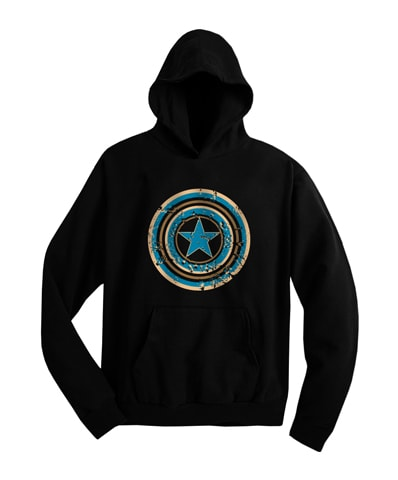 Captain America Shield Hooded Sweatshirt