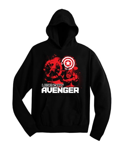Captain America Legendary Avenger Hooded Sweatshirt