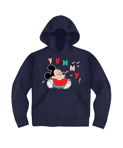 Mickey Mouse Yummy Hooded Sweatshirt