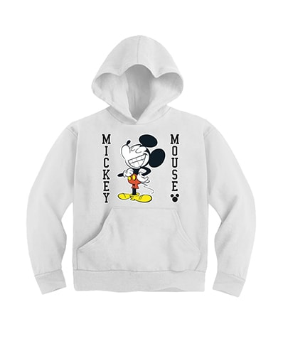 Mickey Mouse Smilig Hooded Sweatshirt
