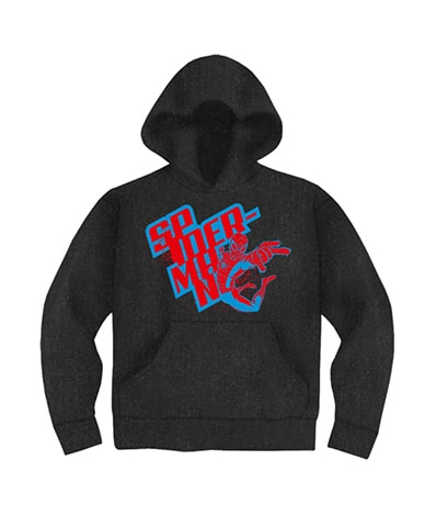 Spider Man Action Hooded Sweatshirt