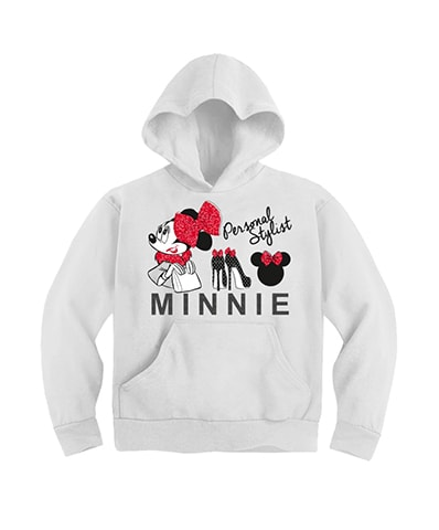 Minnie Mouse Personal Stylist Hooded Sweatshirt