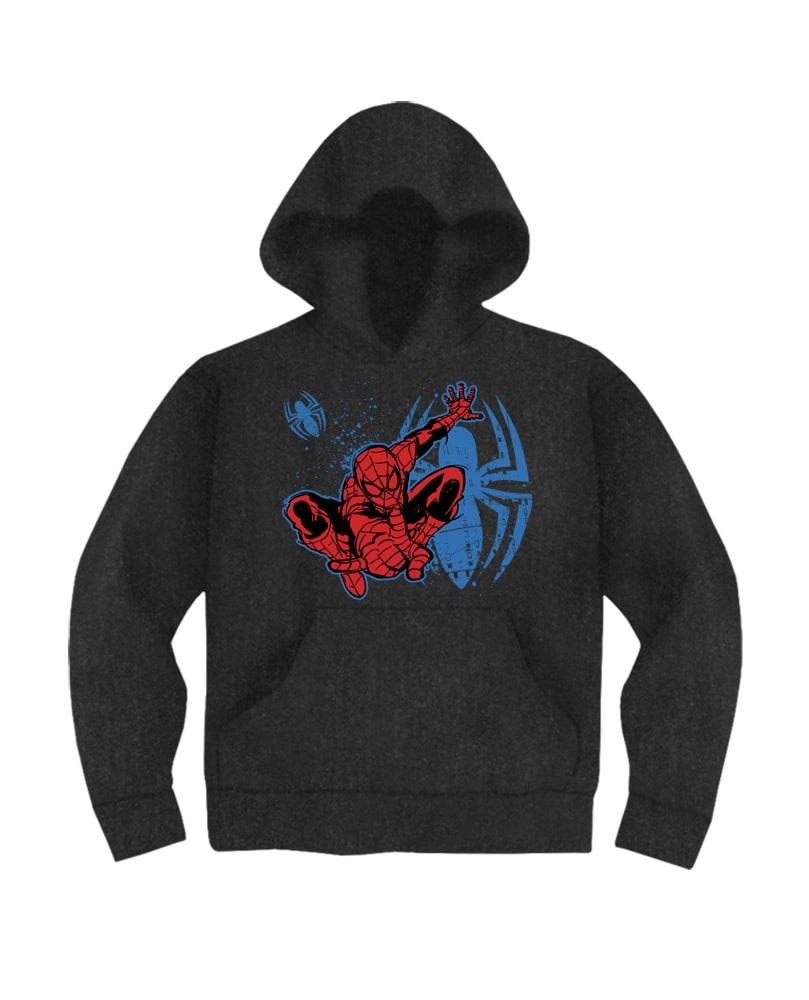 2d907985 Spiderman T Shirts Online India, Kids Boys Spiderman Marvel Hoodie ...