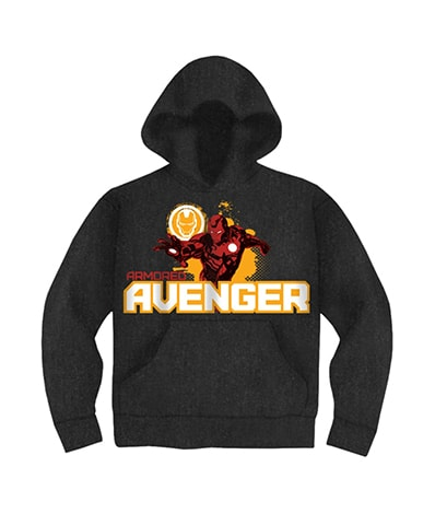 Armored Avenger Iron Man Hooded Sweatshirt