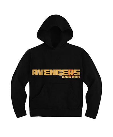Avenger Iron Man Hooded Sweatshirt