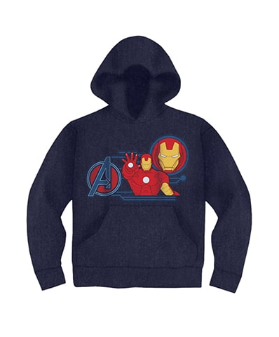Iron Man Hooded Sweatshirt