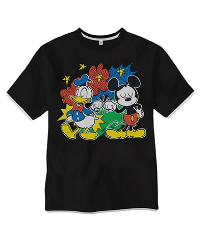 Mickey Mouse Action Ringer T-Shirt