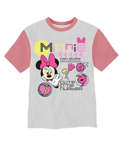 Minnie Mouse Cute Little Number T-Shirt
