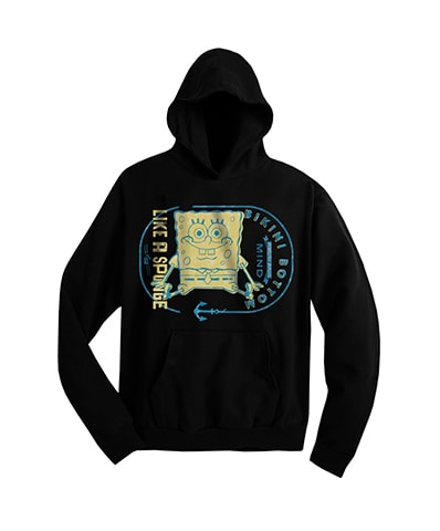 SpongeBob SquarePants Mind Like a Sponge Hooded Sweatshirt
