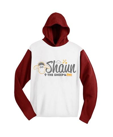 Shaun the Sheep Raglan Hooded T-Shirt