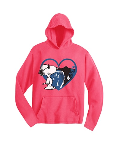 Peanuts Love Hooded T-Shirt