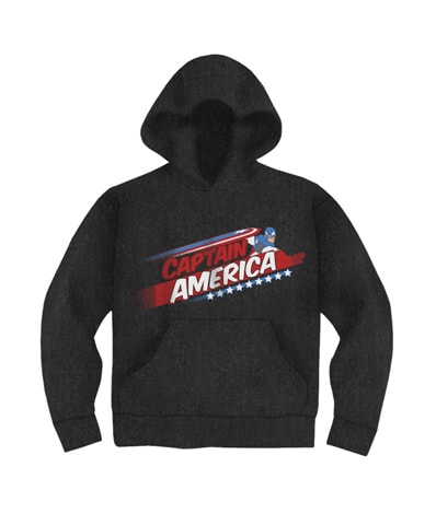 Captain America Stars Hooded Sweatshirt