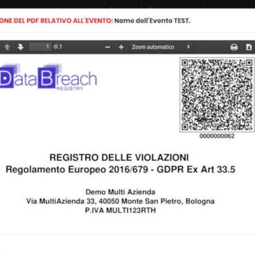 Data Breach Registry   DBR