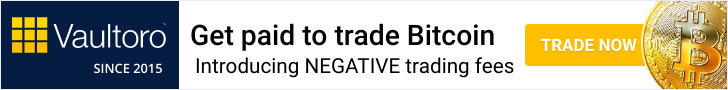 Vaultoro - Get Paid to trade Bitcoin