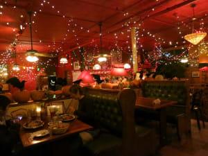 Interior of the Mercury Cafe in Denver