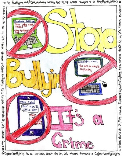 Cyber Bully Kid's Poster