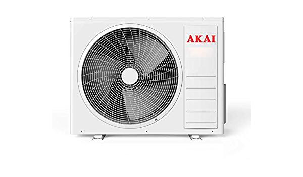 AKAI Climatizzatore MISTRAL12300 MONOSPLIT in Pompa di Calore 12000BTU A++ Bianc