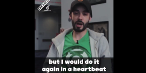 Screenshot from John McPhails interview with the social. Caption: But I would do it again in a heartbeat