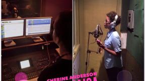 Cherine sings Burns