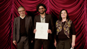 Kaweh receives the FIPRESCI award at the Venice Viennale