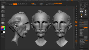 This is a work in progress of the Dad sculpt by Martin McGhee based on Frank Quitely's character designs