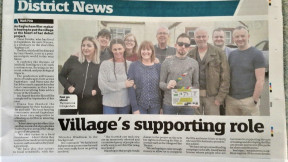 Support from the local people and the East Kilbride press
