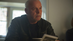 Tony MacDonald looking serious as Ray in short film Rapture 2.0. Have a look at our great perks at socialscreen.co.uk/films/rapture-20 Photo by Chris Quick Suited Caribou Media