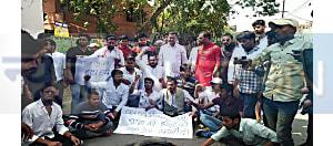 48 घंटे बाद बाद भी पुलिस नहीं ढूंढ पाई छात्र नेता कन्हैया के हत्यारों को, आक्रोशित छात्रों ने किया बोरिंग रोड जाम