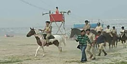 घोड़े पर सवार हुए पटना के सिंघम, छठ घाटों का लिया जायजा