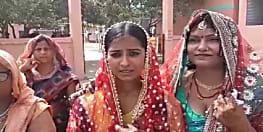 मोतिहारी में दिखा मतदान का जज्बा, युवती ने कन्यादान से पहले किया मतदान
