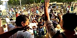 बीजेपी प्रत्याशी डा. संजय जायसवाल पर जानलेवा हमला,लाठी-डंडा से लैस उपद्रवियों ने सांसद पर किया हमला