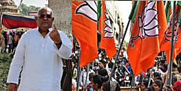 बीजेपी के एमएलसी सच्चिदानंद राय ने किया मतदान, कहा देश में चल रही बीजेपी की आंधी
