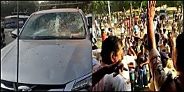 उपद्रवियों ने बीजेपी प्रत्याशी की गाड़ी को किया चकनाचूर, संजय जायसवाल बोले- मेरी हत्या की नीयत से किया गया हमला