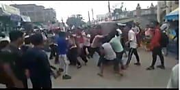 गोलगप्पा के लिए दो गुटों के बीच हुई जमकर मारपीट, दो गम्भीर रूप से जख्मी