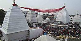 अंतिम सोमवारी को देवघर मंदिर में उमड़ी भक्तो की भीड़, 1,76,857 भक्तो ने किया जलार्पण