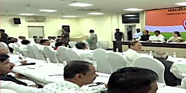 कांग्रेस मुख्यालय में सोनिया गांधी की अध्यक्षता में चल रही है अहम बैठक, राहुल गांधी नहीं है शामिल