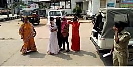 समस्तीपुर में संदिग्ध स्थिति में पकड़ाई लड़कियां, सेक्स रैकेट की आशंका