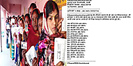 झारखंड चुनाव : दोपहर 1 बजे तक 45.14 प्रतिशत वोटिंग, रामगढ़ में बीजेपी और आजसू कार्यकर्ताओं के बीच झड़प