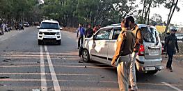 BIG BREAKING : रांची में कार और बाइक के बीच हुई टक्कर, तीन की मौत, दो घायल