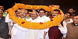 कांग्रेस के पूर्व प्रदेश अध्यक्ष रामजतन सिंहा ने थामा जेडीयू का दामन, सीएम नीतीश की उपस्थिति में हुए पार्टी में शामिल