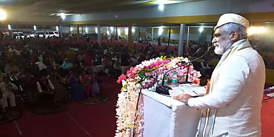 तीन दिवसीय 66 वें विद्यापति पर्व में शामिल हुए केन्द्रीय मंत्री अश्विनी चौबे, कहा उनके बिना भारतीय संस्कृति अधूरा