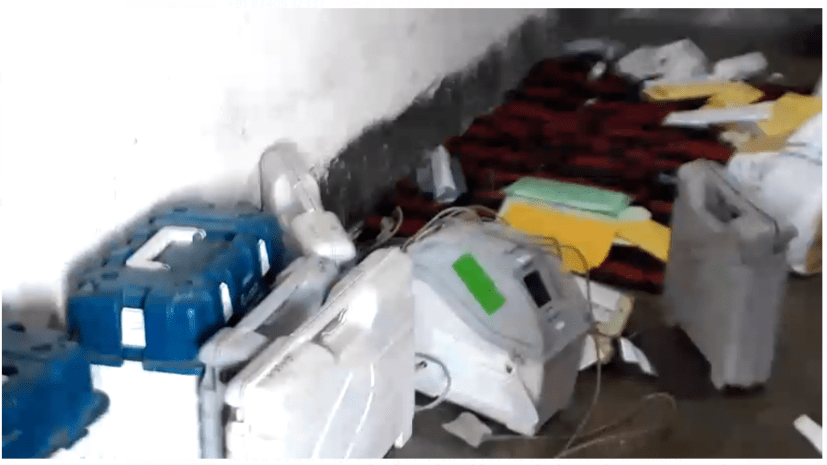 नवादा में मतदान केन्द्र पर उत्पात मचाने के आरोप में 4 लोगों को भेजा गया जेल