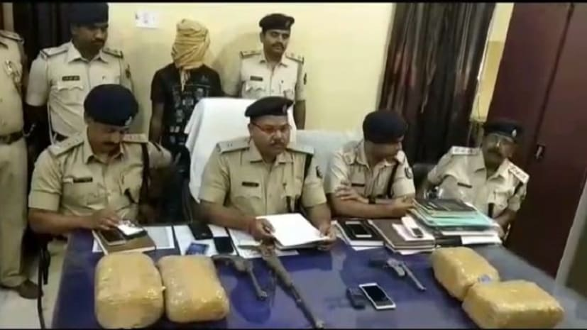 बेगूसराय में पुलिस को मिली भारी सफलता, 55 किलो गांजा और कई अपराधियों को किया गिरफ्तार