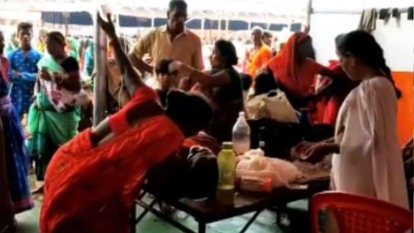 बड़ी खबर : लखीसराय के अशोकधाम मंदिर में भगदड़, एक की मौत कई गंभीर रुप से घायल