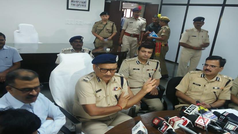 डीजीपी गुप्तेश्वर पांडेय ने बिहार पुलिस को दी पूरी छूट,बोले-अब अपराधियों को छोड़ने के लिए नेताओं की नहीं आती पैरवी