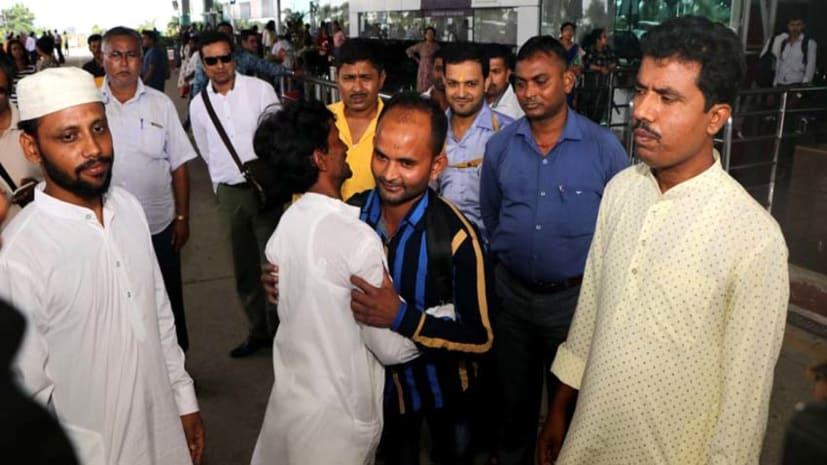 मुख्यमंत्री के पहल पर मुफीज की हुई वतन वापसी, परिजनों में ख़ुशी की लहर