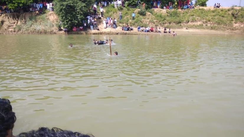 गया में नदी में डूबने से दो युवकों की मौत, एक की हालत गंभीर