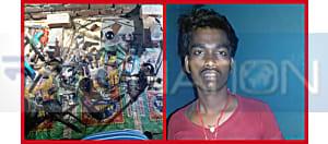 STF की छापेमारी में मिनी गन फैक्ट्री का भंडाफोड़, 2 पिस्टल और 8 कार्टून विदेशी शराब के साथ एक गिरफ्तार