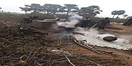 नवादा के जंगली इलाके में STF की कार्रवाई, हजारों लीटर शराब को किया नष्ट