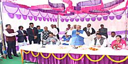 नवादा में खिलाड़ियों के लिए बनेगा तीन मंजिला भवन, मंत्री श्रवण कुमार ने किया शिलान्यास